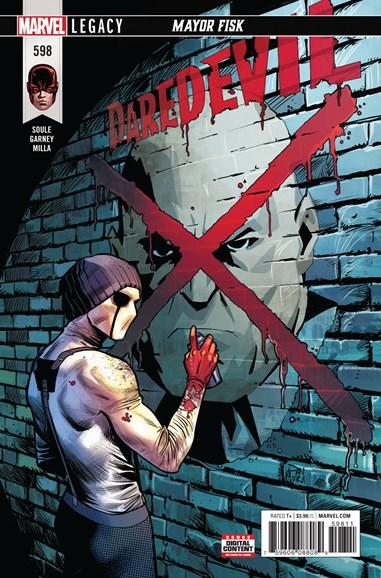 Daredevil Cover - 4/1/2018