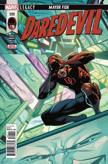 Daredevil Cover - 4/15/2018