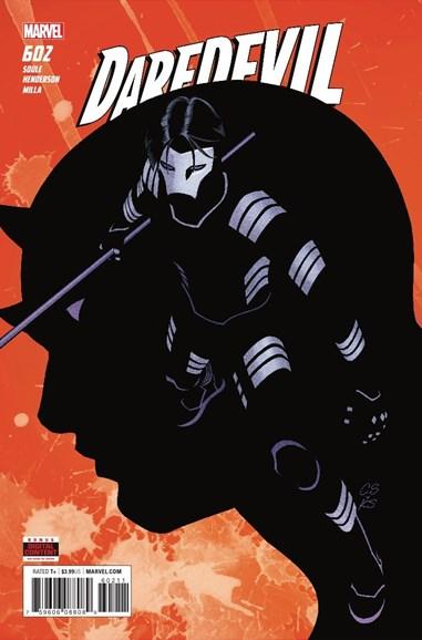 Daredevil Cover - 7/1/2018