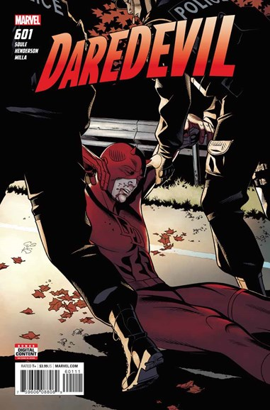 Daredevil Cover - 6/1/2018