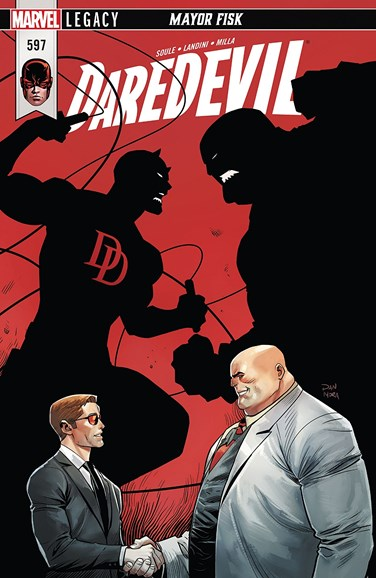 Daredevil Cover - 3/1/2018