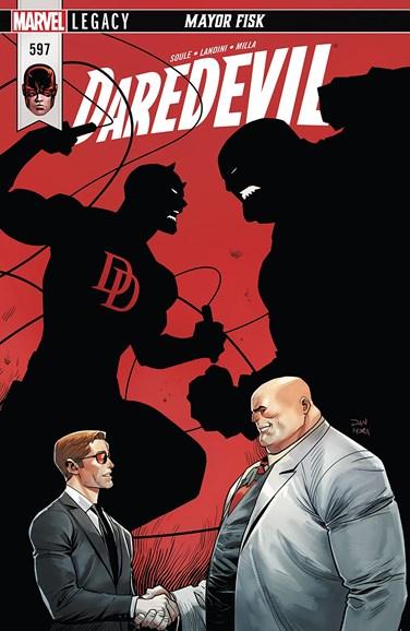 Daredevil Cover - 3/1/2018