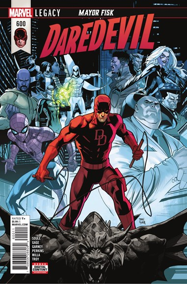 Daredevil Cover - 5/1/2018