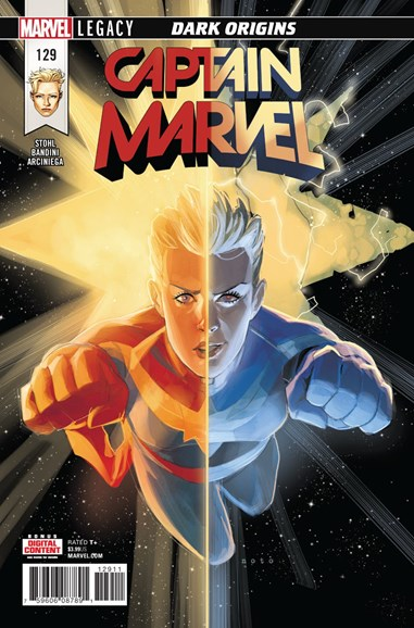 Captain Marvel Cover - 4/1/2018