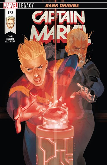 Captain Marvel Cover - 3/1/2018