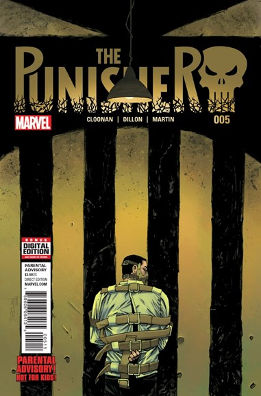 The Punisher Cover - 11/1/2016