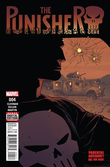 The Punisher Cover - 10/1/2016