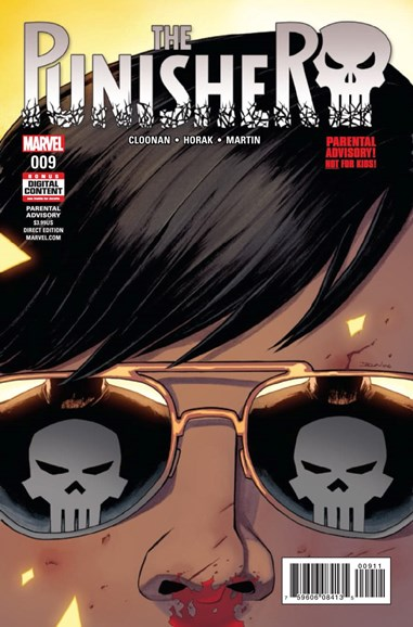 The Punisher Cover - 4/1/2017