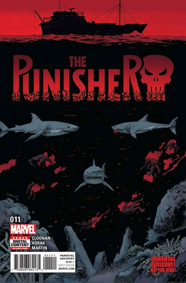 The Punisher Cover - 6/1/2017
