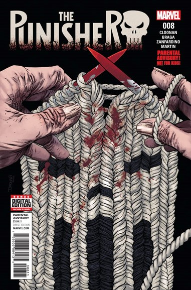 The Punisher Cover - 3/1/2017