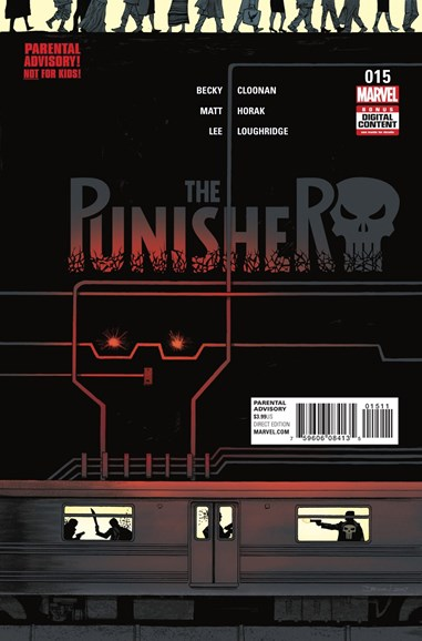 The Punisher Cover - 10/1/2017