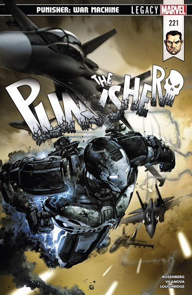 The Punisher Cover - 4/1/2018