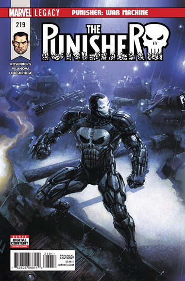 The Punisher Cover - 2/1/2018