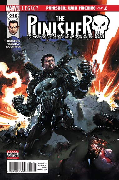 The Punisher Cover - 1/1/2018