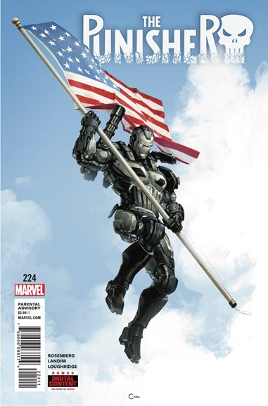 The Punisher Cover - 7/1/2018