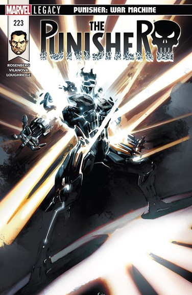 The Punisher Cover - 6/1/2018