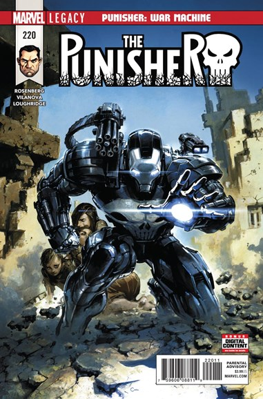 The Punisher Cover - 3/1/2018