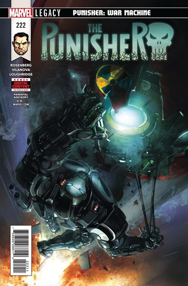 The Punisher Cover - 5/1/2018