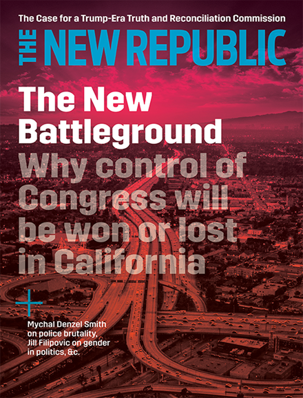 The New Republic Cover - 6/1/2018