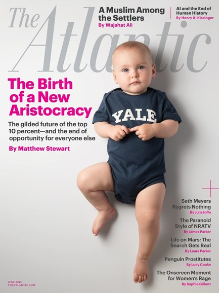 The Atlantic Cover - 6/1/2018