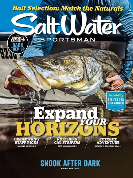Salt Water Sportsman Cover - 6/1/2018