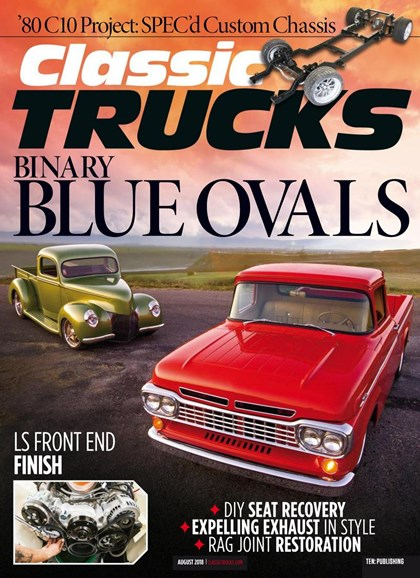 Classic Trucks Cover - 8/1/2018