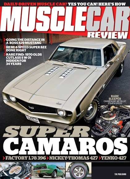 Muscle Car Review Cover - 6/1/2018