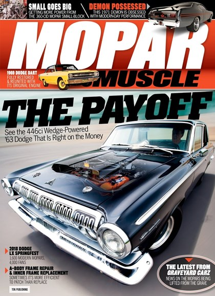 Mopar Muscle Cover - 8/1/2018