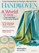 Handwoven Magazine 5/1/2018