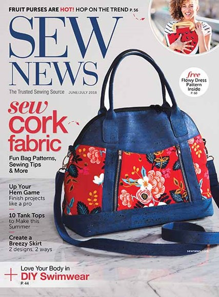 Sew News Cover - 6/1/2018