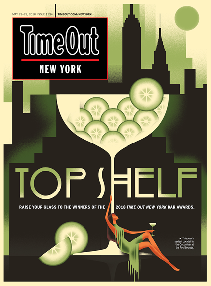 Time Out New York Cover - 5/23/2018