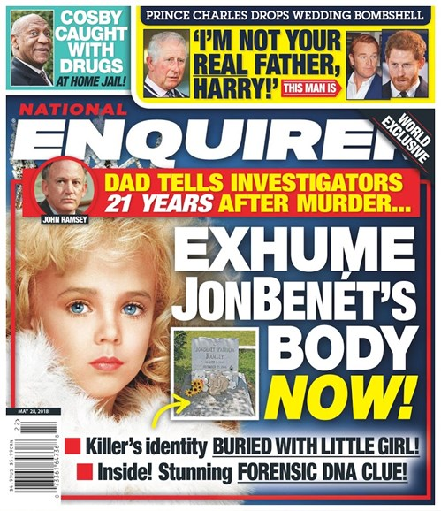 National Enquirer Cover - 5/28/2018