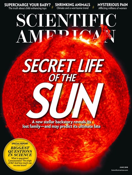 Scientific American Cover - 6/1/2018