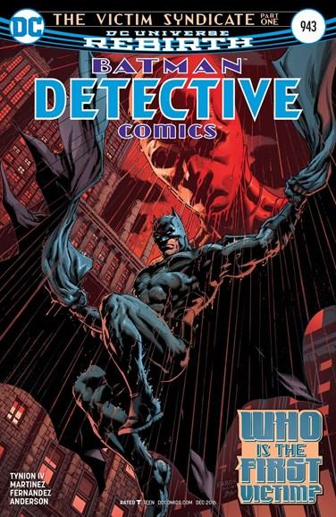 Detective Comics Cover - 12/15/2016