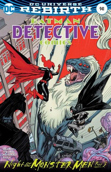 Detective Comics Cover - 11/15/2016