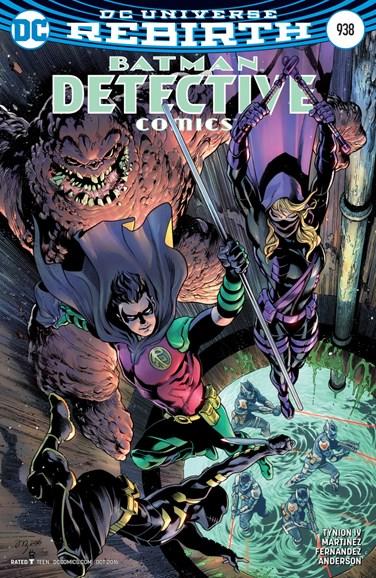 Detective Comics Cover - 10/1/2016
