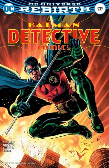 Detective Comics Cover - 10/15/2016