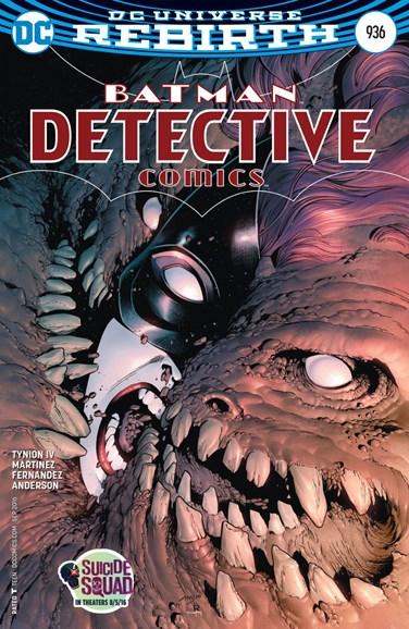 Detective Comics Cover - 9/1/2016