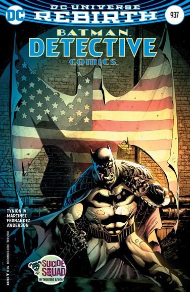 Detective Comics Cover - 9/15/2016