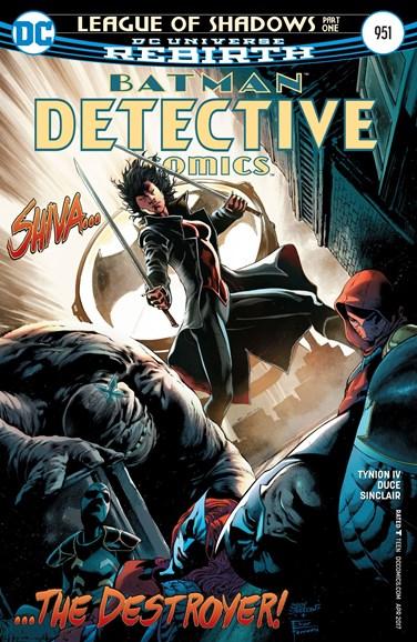 Detective Comics Cover - 4/15/2017