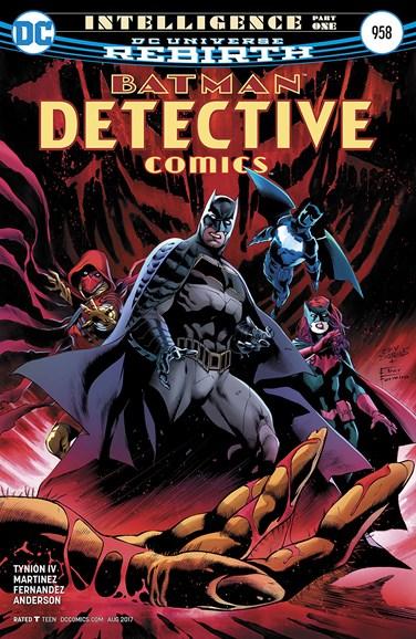 Detective Comics Cover - 8/1/2017