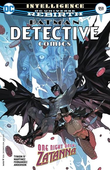 Detective Comics Cover - 8/15/2017