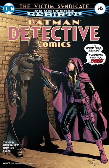 Detective Comics Cover - 1/15/2017
