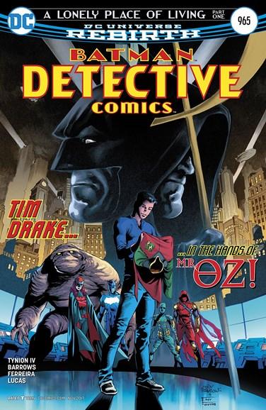 Detective Comics Cover - 11/15/2017