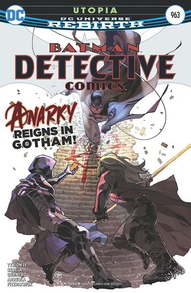 Detective Comics Cover - 10/15/2017