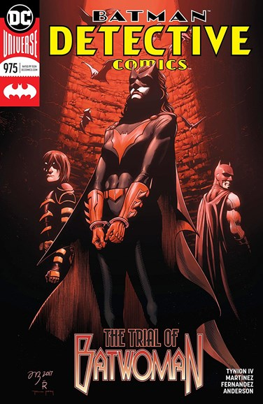 Detective Comics Cover - 4/15/2018