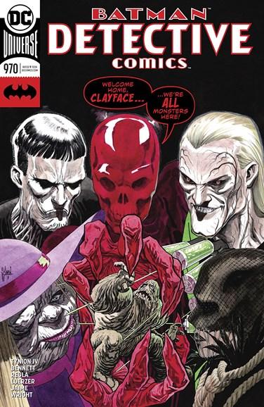 Detective Comics Cover - 2/1/2018