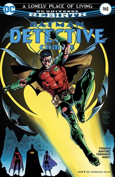 Detective Comics Cover - 1/1/2018