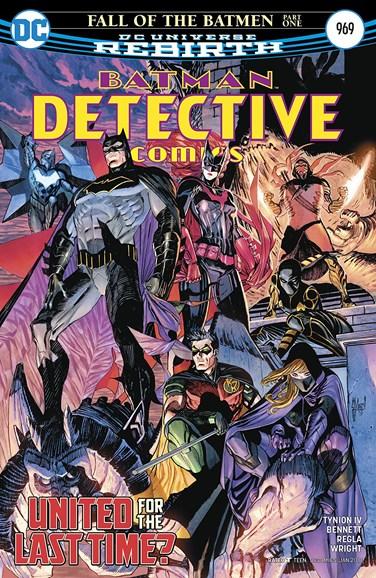 Detective Comics Cover - 1/15/2018