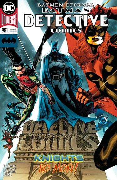 Detective Comics Cover - 7/15/2018